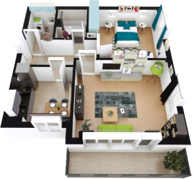 Muse-Residence-Apartament 2 camere